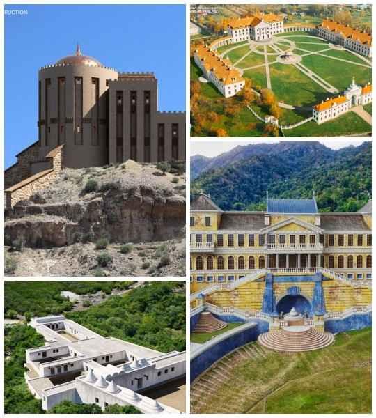 В мире полно чудесных исторических мест, таких как дворцы, замки и т. д.