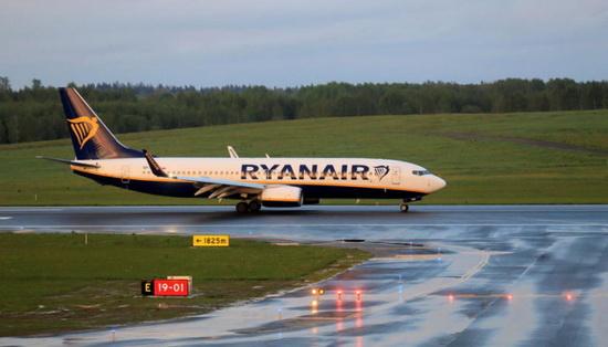 Инцидент с самолетом Ryanair в Беларуси
