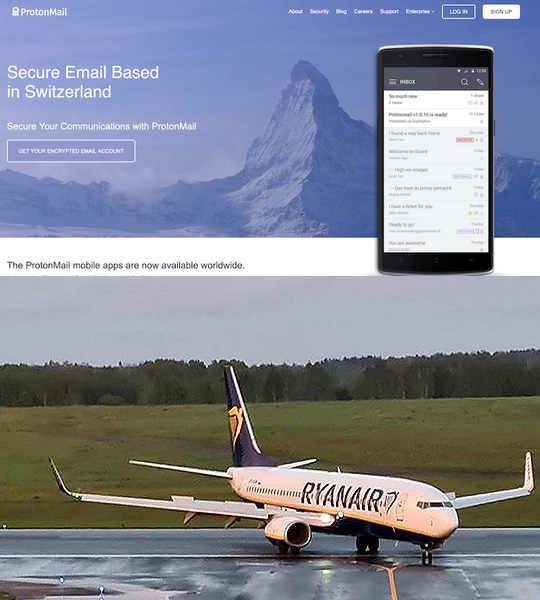 Proton Technologies AG заявил о том, что сообщение о минировании самолета авиакомпании Ryanair было отправлено уже после того, как борт развернулся в сторону Минск