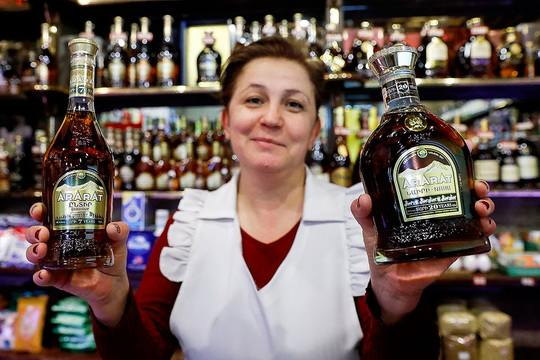 """Евросоюз выплатит Армении компенсацию размером три миллиона евро за то, чтобы слово """"коньяк"""" больше не использовалось в названиях армянской алкогольной продукции."""