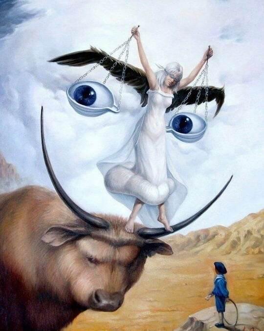 Предлагаем вашему вниманию удивительные картины-иллюзии, вдохновлённые сюрреалистической природой