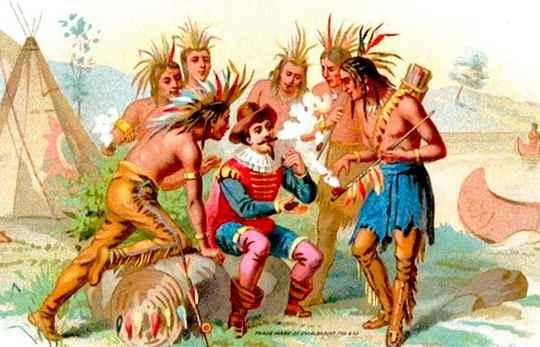 По легенде, Христофор Колумб, когда индейцы дали ему табачные листья, собирался выкинуть их.