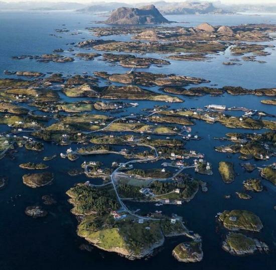 Архипелаг в Норвегии