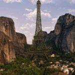Если бы знаменитые достопримечательности и исторические памятники находились в совершенно других местах