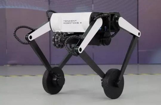 Лаборатория Robotics X Lab, принадлежащая китайской корпорации Tencent, продемонстрировала нового робота c именtv Олли (Ollie).