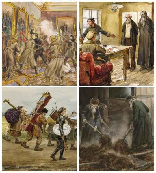 Художник-баталист Иван Алексеевич Владимиров (1869-1947) до недавнего времени был известен как автор картин и рисунков на историко-революционные темы