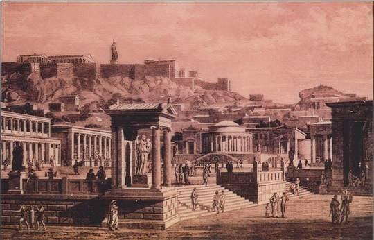 В те времена создавались прекрасные статуи, начали проводить Олимпийские игры, тогда зародился и развивался театр