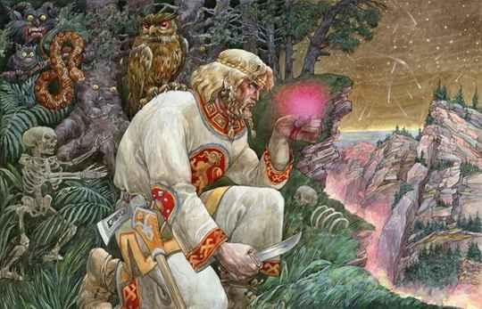 Древние славяне верили, что некоторые растения обладают чудотворным действием и способны излечивать тело от недугов, а душу очищать от нечисти