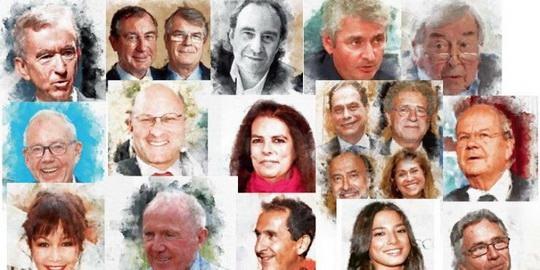 Число французских миллиардеров с июня 2020 года выросло с 95 до 109