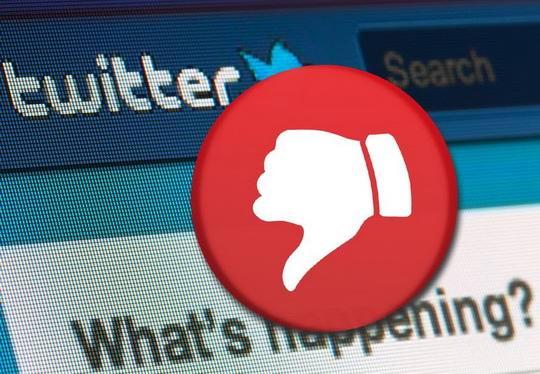 Сервис микроблогов Twitter начал тестирование кнопки отрицательной оценки комментариев к публикациям.