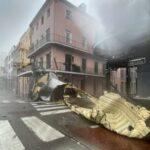 В США ураган «Ида» полностью обесточил Новый Орлеан