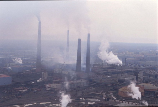 Норильск, Россия — рудники и металлургия