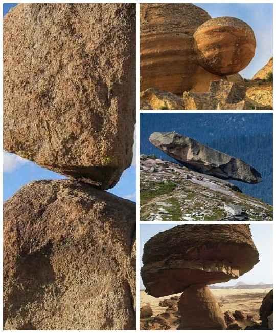 Как минимум трижды в нашем мире было зафиксировано очень странное поведение каменных глыб, типичное для живой природы
