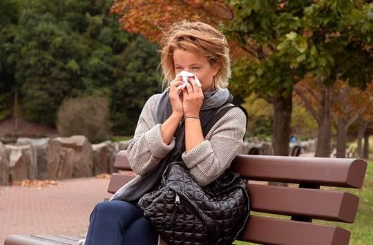 После плача, часто появляется потребность высморкаться