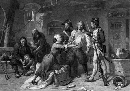 Тема преступности в России XVIII века всегда будет ассоциироваться с фигурой, принадлежащей одновременно истории, массовой книжной литературе и фольклору, — Ванькой Каином.