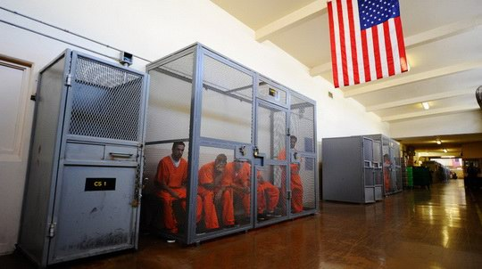In a few minutes time you'll want to abolish prisons.