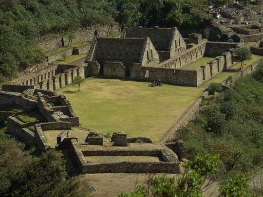 В Перу существует два затерянных города инков: Мачу-Пикчу и Чокекирао